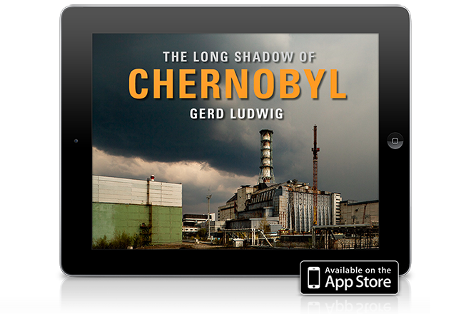"Gerd Ludwig's iPad App ""The Long Shadow of Chernobyl"""