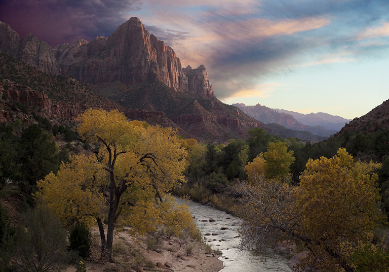 "Sunset at ""The Watchman"" - Zion National Park, Utah"