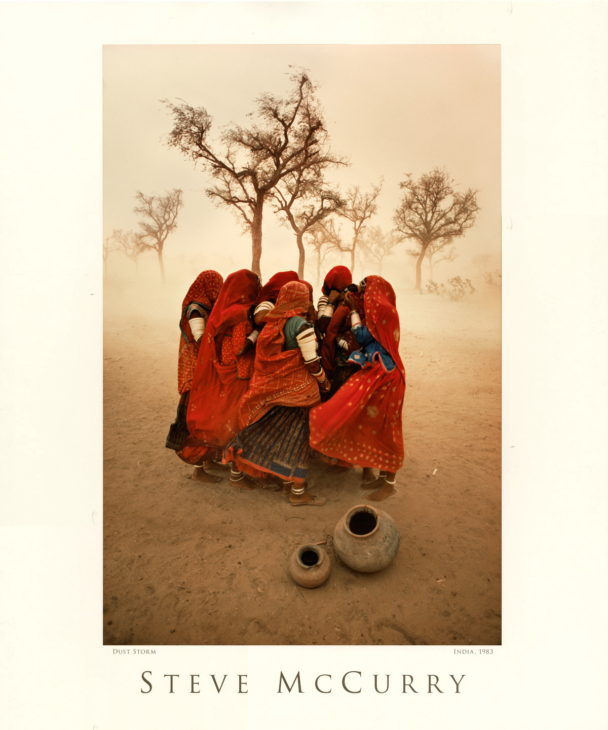Dust storm, Rajasthan, India, 1983.
